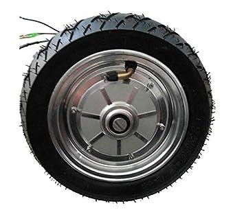 GZFTM 9 Pulgadas 350 W 48 V Rueda de Motor eléctrico Roller Motor eléctrico Buje Motor para Silla: Amazon.es: Deportes y aire libre