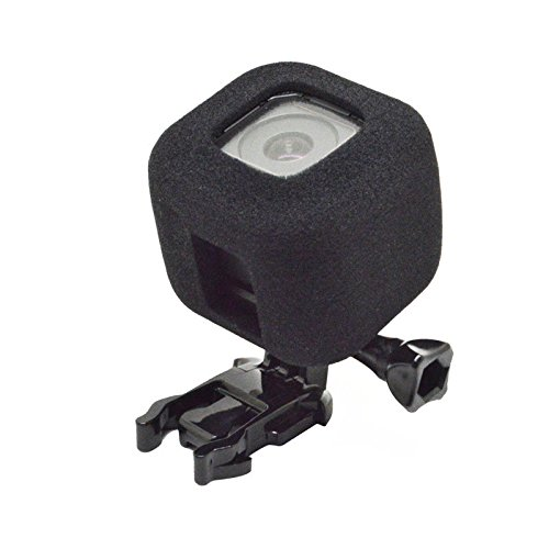 Semoic Wind Noise Reduction Windproof Sponge Foam Cover for Gopro Hero 5 4 Session Cam by Semoic (Image #2)