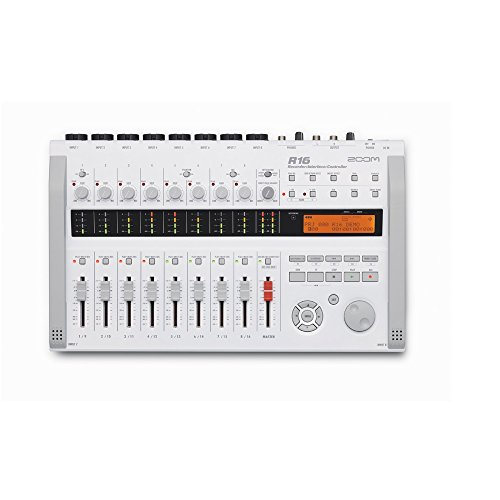 Zoom R16 Multitrack SD Recorder Controller and Interface (International Version - No Warranty) (Zoom R16 Recorder)