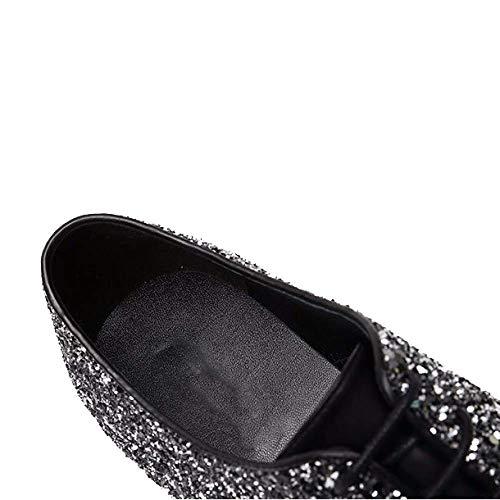 Zpedy Chaussures Black Zpedy Pour FemmesAngleterreCasualDentelleBassesConfortablePortable FemmesAngleterreCasualDentelleBassesConfortablePortable Black Chaussures Pour POXwZTliuk