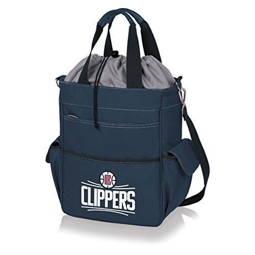 NBA Los Angeles Clippers Insulated Activo Cooler Tote, Navy by Picnic Time