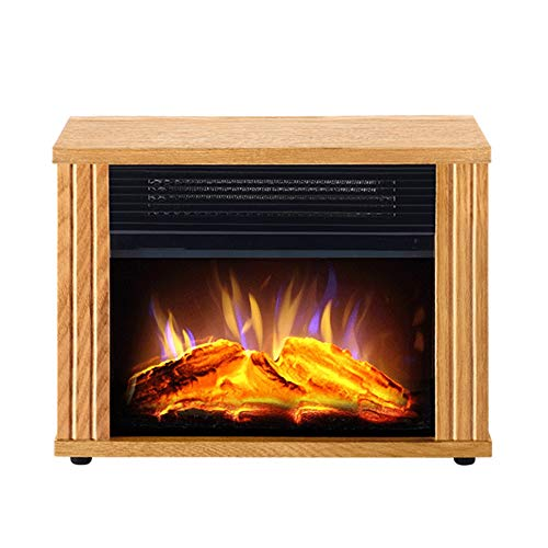 Cheap RKRGQ Electric Stove Fireplaces Electric Fireplace Log Burner Electric Fire Stove Freestanding Electric Fireplace Fire Wood Log Burning Effect Flame Heater Stove900/1800W Black Friday & Cyber Monday 2019