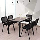 Giantex Set of 5 Conference Chair Elegant Design