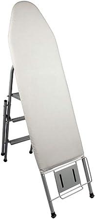Tabla CE Planchar Plegable Familia con Funda de Algodón Almohadilla de Fieltro Manga Tablero, con Escalera Función (Color : A): Amazon.es: Hogar