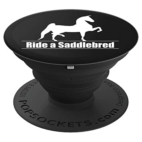 American Saddlebred Horse Training Gaited Horses Equitation - PopSockets Grip and Stand for Phones and Tablets