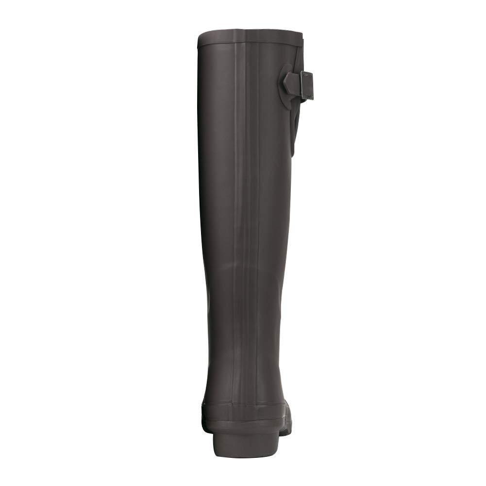0a611390e Amazon.com   JOYCORN Women's Wellies Rain Boots Ladies Original Waterproof  Rubber Knee-High   Rain Footwear