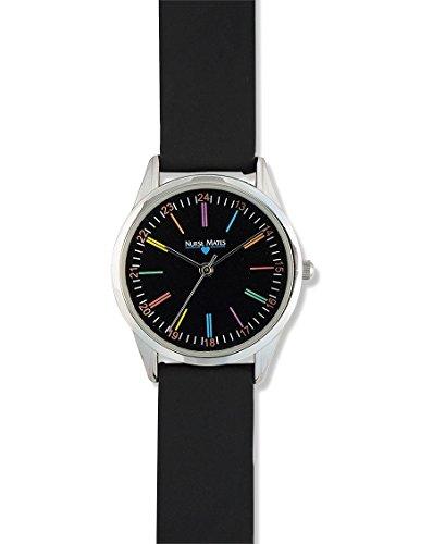 (Nurse Mates - Specials - Color Wheel Watch Black)