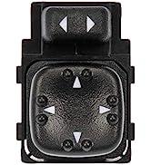 Mirror Switch Compatible with 1999-2002 Silverado 2000-2002 Suburban Sierra Tahoe Power Mirror Sw...