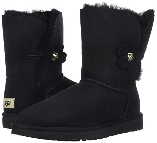 UGG UGG Bailey Black Stivali Stivali Stivali Poppy Button rfTr4p