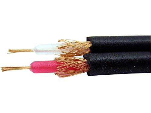 MPE Cable adaptador de mini-jack estéreo macho xlr cannon conexión para pc, iphone, ipod, teléfono móvil, mp3, caja de altavoces activa difusor activo mod: 30-5
