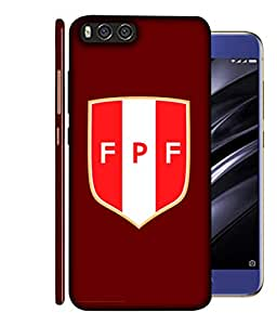 ColorKing Football Peru 07 Red shell case cover for Xiaomi Mi A1