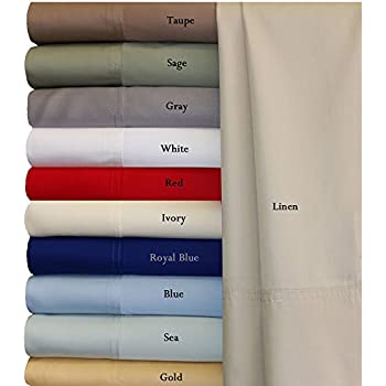 King White Silky Soft bed sheets 100% Bamboo Viscose Sheet Set