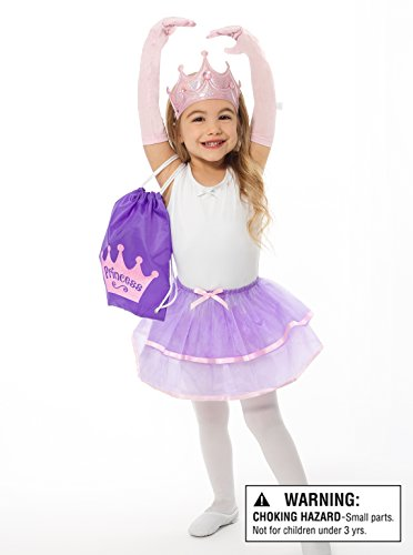 Little Adventures Drawstring Backpack Princess Costume Gi...