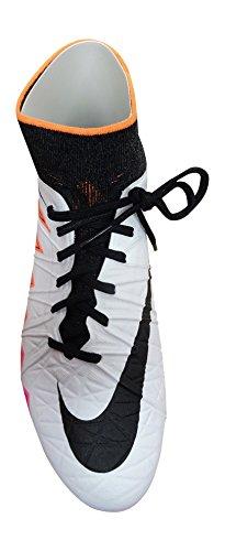 Nike, Scarpe da calcio uomo 46 EU White Black Total Crimson 109