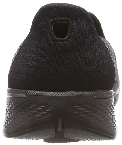 Skechers Black 4 Damen Schwarz Sneaker Pursuit Walk Go U6U0xqwr