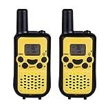 Waterproof Mini Walkie Talkie - Mini Walkie Talkie For Kids - T-669 2Pcs Portable Mini Kids Walkie Talkies 2 Way Radio Back-lit Screen (Walkie Talkies For Kids Mini)