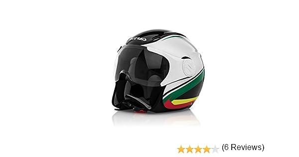 Amazon.es: Acerbis 0021662.315.061 x-jet en casco de la bici, color negro/blanco