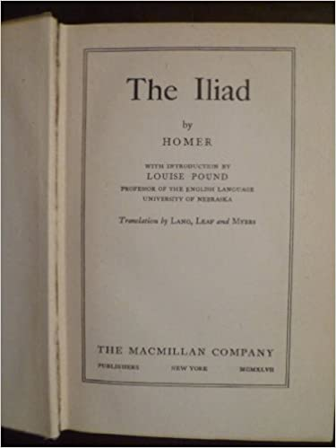 The Iliad,