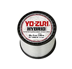 The Yo-Zuri hybrid mainline has a high level of abrasion resistance due to the bonding of fluorocarbon and nylon on a molecular level. This makes Yo-Zuri hybrid denser, tougher, and more sensitive than standard monofilament. Available in 1lb ...