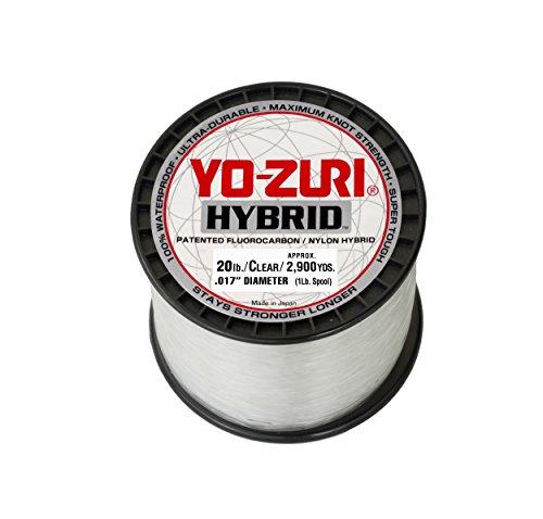 Yo zuri clear hybrid fishing line 20lb 1 lbbest fishing for Yo zuri fishing line