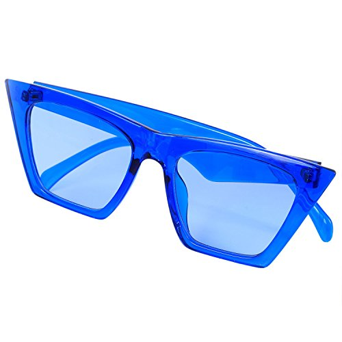 gato de mujer S17047 Gafas TOOGOO de Ambar sol de hombre de degradada Gafas moda lujo de Azul sol ojo sombra de de Anteojos 4qxwgnxXC