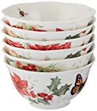 Lenox Butterfly Meadow 6-Piece Holiday Rice Bowl