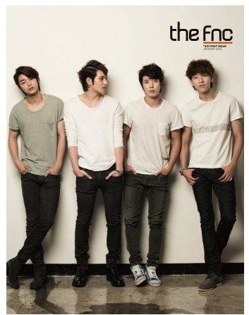 The FNC Magazine Vol.1 (CNBLUE ver.) JAN 2013 DVD (Rigion (Fnc Magazine)