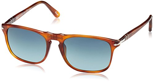 Persol Unisex PO3059S Land of Siena/Polarized Gradient Blue from Persol