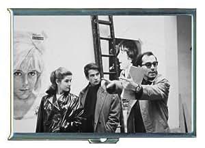 Jean-Luc Godard Director ID Holder, Cigarette Case or Wallet: MADE IN USA!