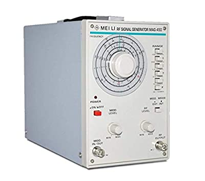 ZGQA-GQA High Precision High Frequency Signal Generator 100kHz-150MHz Signal Source Audio Signal Generator MAG-450 Home Improvement Electrical