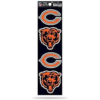 NFL Chicago Bears Die Cut 4-Piec...