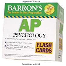 Barron's AP Psychology Flash Cards (Barron's: the Leader in Test Preparation)
