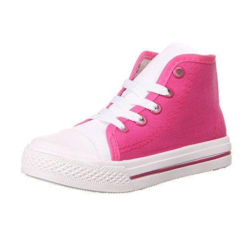 Ital-Design - zapatilla baja Niños-Niñas Rosa - Pink (31-36)