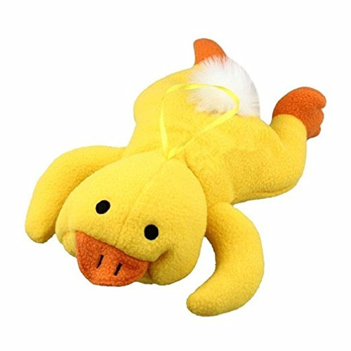 Zerowin Lovely Animal Infant Baby Bottle Cover Feeder Bottle Keep Warm Holder, Yellow (Duck Baby Bottle)