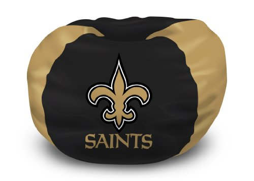 102 Chair Bean Bag (NFL Bean Bag Chair NFL Team: New Orleans Saints)