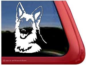 Amazon.com: German Shepherd Dog Vinyl Window Decal Sticker
