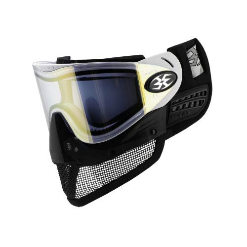 Empire E-Mesh Airsoft Goggle System (White - Thermal Mirror Gold Lens) by Empire