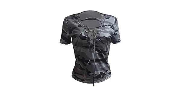 Amazon.com: Kstare - Camiseta de manga corta para mujer ...