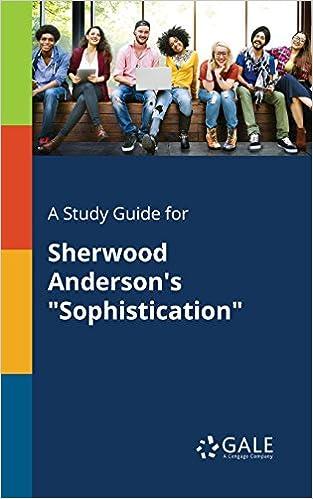 SOPHISTICATION SHERWOOD ANDERSON EPUB DOWNLOAD