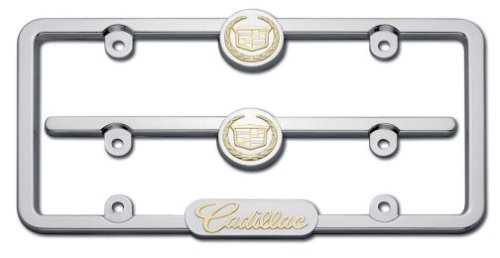 - Cruiser Accessories 10200 Emblem Kit, Cadillac, Chrome/24K