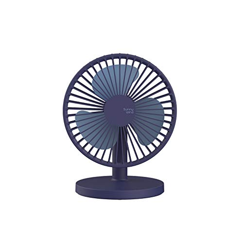 USB Desk Fan, 7inch USB Power Fan Rechargeable Ultra-Quiet Third Gear Speed Mini Fan for Office Desktop