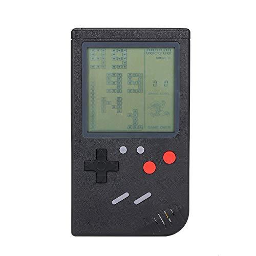 Goolsky クラシック 携帯ゲーム ゲームコンソール テトリスゲーム ブロックゲーム パズルゲーム 子供 ハンドヘルドゲーム機 おもちゃ キッド