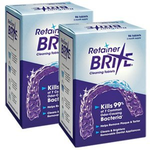 192 Tablet Retainer Brite (6 Months Supply) by Essix