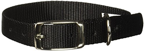 Petmate Aspen PET Products 15410 Nylon Dog Collar, 5/8 by 14-Inch, Black