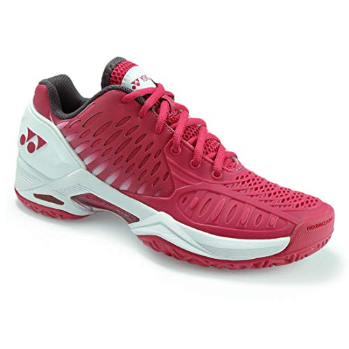 Yonex Power Cushion Eclipsion All Court Womens Tennis Shoe Dark Pink/White