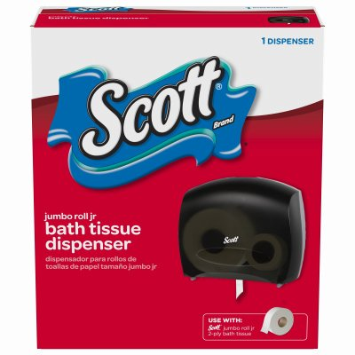 Kimberly-Clark 14234 Scott Smoke Jumbo Roll Tissue Dispenser