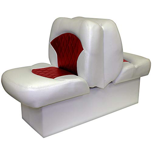 Overton's Premium Back-to-Back Lounge Seat Gray/Red