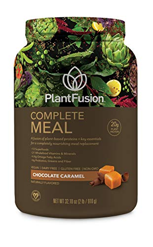 PlantFusion Complete Meal Plant Based Protein Powder, Chocol