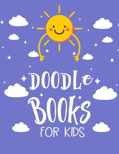 Doodle Books For Kids: Graph Paper Notebook, 8.5 x 11, 120 Grid Lined Pages (1/4 Inch Squares)
