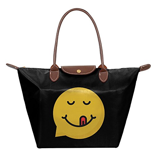 OUDE Yummy Emoji Fashion Ladies Folding Dumpling Bags (Beef Stew Recipe Betty Crocker)